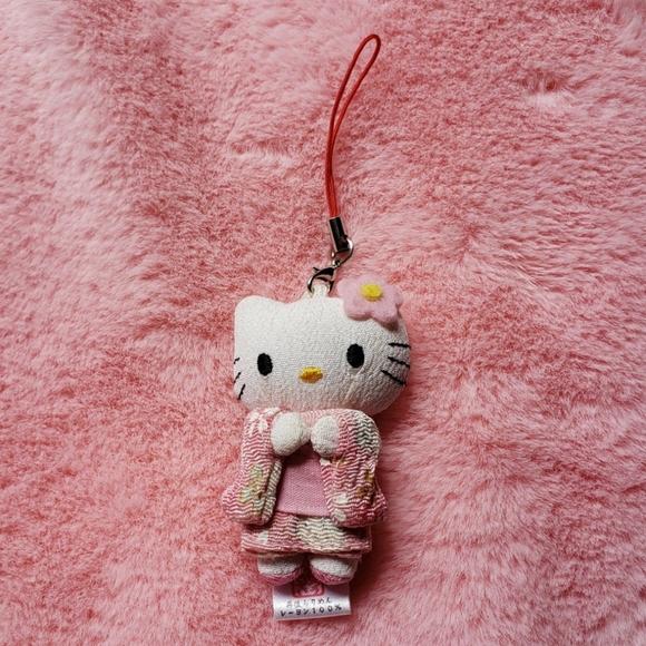 Sanrio Other - Sanrio hello kitty in pink Japanese kimono